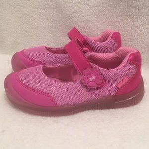 STRIDE RITE Surprize Light Up Shoes - girls sz 10